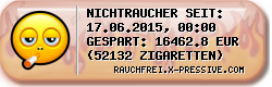 Rauchfrei-Ticker by X-PRESSIVE.COM